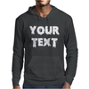 Your Text Mens Hoodie