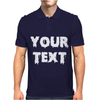 Your Text Mens Polo