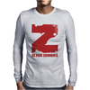Z is for Zombies Mens Long Sleeve T-Shirt