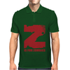 Z is for Zombies Mens Polo
