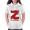 Z is for Zombies Womens Polo