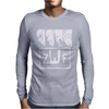 Zaibatsu Wrestling Federation 4 Life Mens Long Sleeve T-Shirt