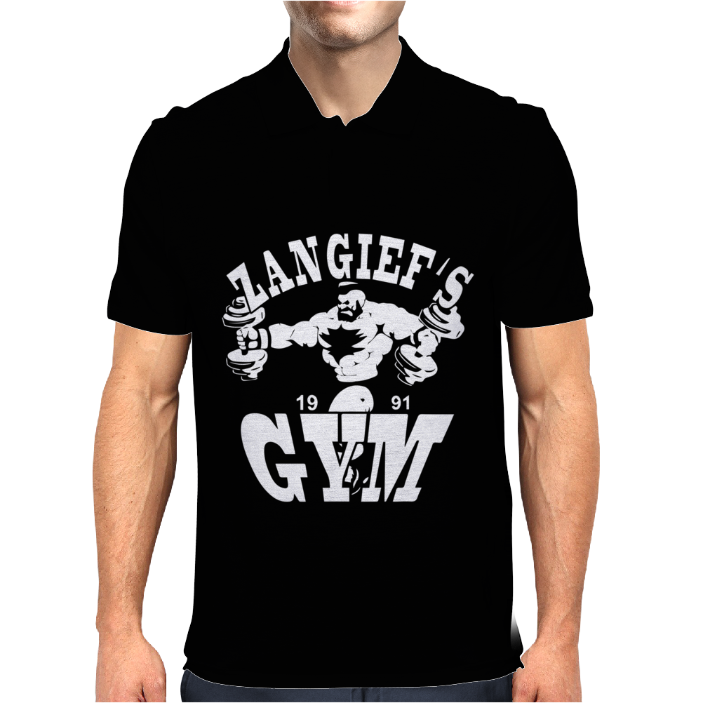 Zangief's Gym Mens Polo