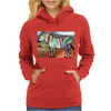 Zebra of Color Womens Hoodie