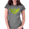 Zelda electric triforce pantano Womens Fitted T-Shirt