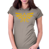 Zelda Hyrule Royal Crest Tee Triforce T Game Womens Fitted T-Shirt