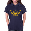 Zelda Hyrule Royal Crest Tee Triforce T Game Womens Polo