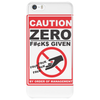 Zero Fucks Given Phone Case