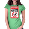 Zero Fucks Given Womens Fitted T-Shirt