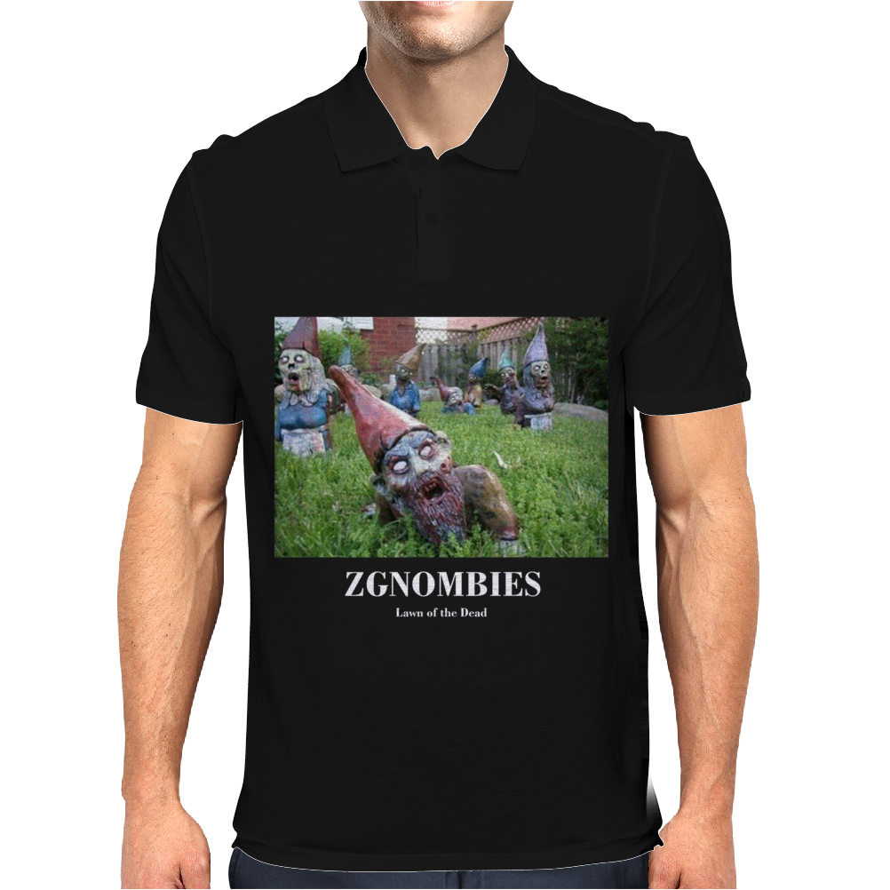 Zgnombies Funny Mens Polo
