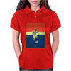 Zinedine Zidane (France) Vintage Poster Womens Polo
