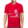 Zlatan Ibrahimovic Soccer World Star Mens Polo
