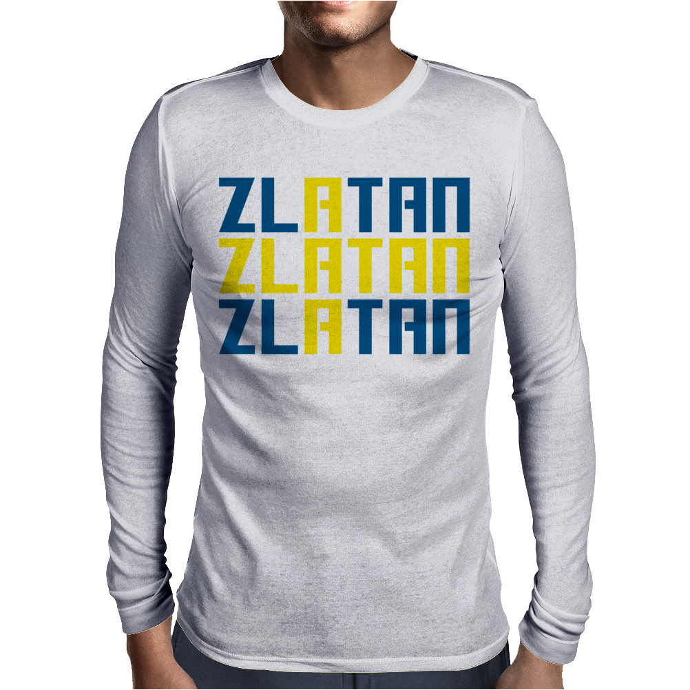 Zlatan Mens Long Sleeve T-Shirt