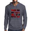 zobie high football team Mens Hoodie