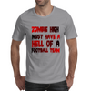 zobie high football team Mens T-Shirt