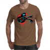 Zombie 3d Glass Mens T-Shirt