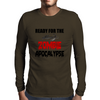 ZOMBIE APOCALYPSE Mens Long Sleeve T-Shirt