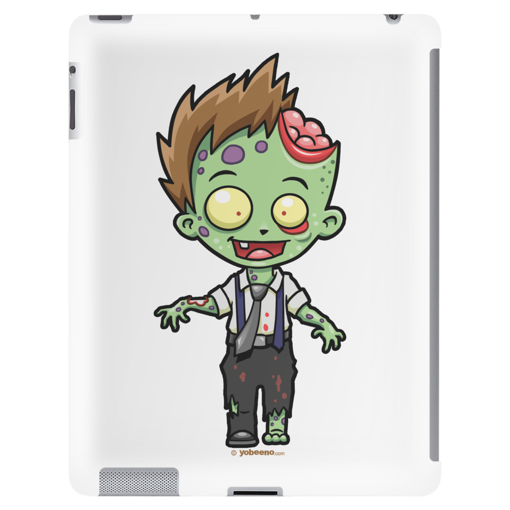 Zombie Boy by Yobeeno.com Tablet (vertical)