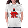 Zombie Christ T-Shirt Womens Polo