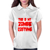 ZOMBIE COSTUME Womens Polo