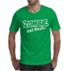 Zombie Eat Flesh Mens T-Shirt