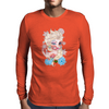 Zombie Elsa Mens Long Sleeve T-Shirt