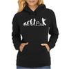 Zombie Evolution Womens Hoodie