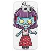 Zombie Girl by Yobeeno.com Phone Case