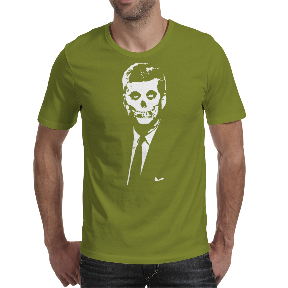 Zombie Kennedy Mens T-Shirt