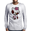 Zombie Kitty Mens Long Sleeve T-Shirt