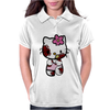 Zombie Kitty Womens Polo