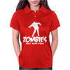 Zombie Only Want a Hug Womens Polo