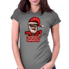 Zombie Santa Womens Fitted T-Shirt