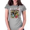 Zombie Zone Womens Fitted T-Shirt