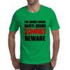 ZOMBIES BEWARE Mens T-Shirt