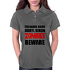 ZOMBIES BEWARE Womens Polo