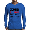 ZOMBIES EAT BRAINS DON'T WORRY YOUR SAFE Mens Long Sleeve T-Shirt