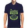 Zombies eat Brains you are safe! Mens Polo
