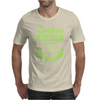 Zombies eat Brains you are safe! Mens T-Shirt