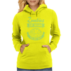 Zombies eat Brains you are safe! Womens Hoodie