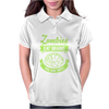 Zombies eat Brains you are safe! Womens Polo