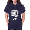Zombies Hate Fast Food Womens Polo
