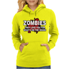 Zombies Love You, Ideal Birthday Gift Or Present Womens Hoodie