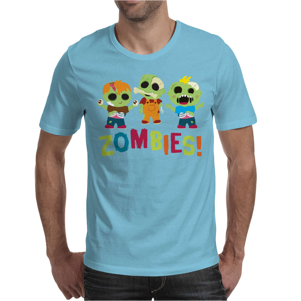 Zombies Mens T-Shirt