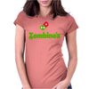 Zombino's Pizza Womens Fitted T-Shirt