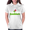 Zombino's Pizza Womens Polo