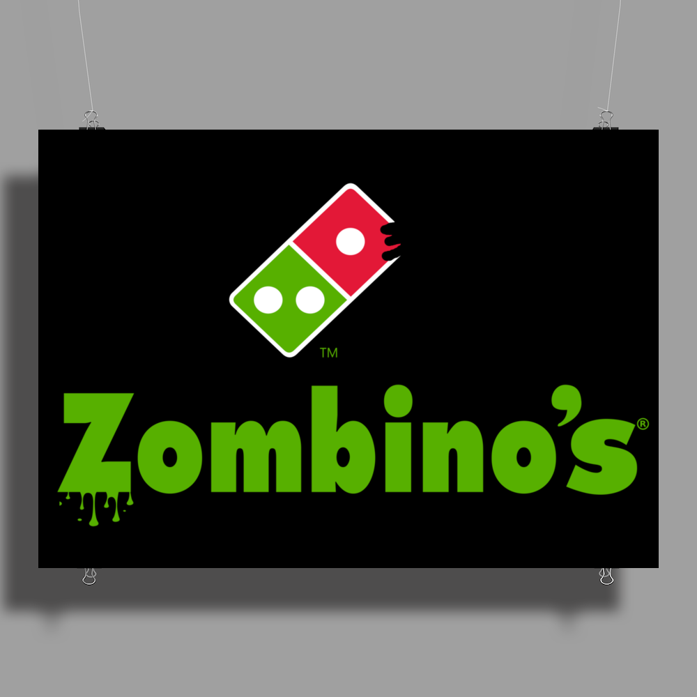 Zombino's (Updated) Poster Print (Landscape)