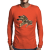 Zoomie Zebra Mens Long Sleeve T-Shirt