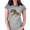 Zoomie Zebra Womens Fitted T-Shirt
