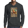 Zoro Wanted One Piece Rubber Cartoon Manga Mens Hoodie